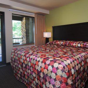 bedroom of O